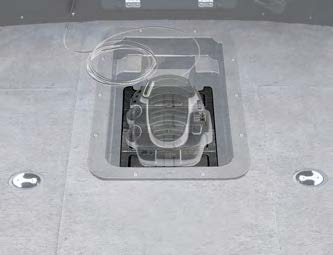 Panther 55-9800 Recessed Trolling Motor Foot-Control Tray with ...
