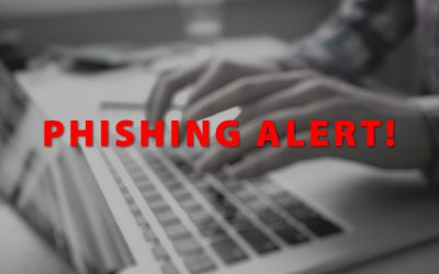 Notice Regarding Phishing Attempts
